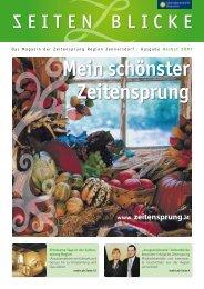 Magazin ZeitenBlicke Herbst 07.pdf - Zeitensprung