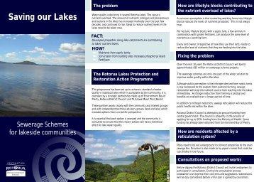 Saving our Lakes - Rotorua District Council
