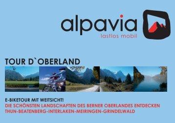 TOUR D`OBERLAND - Alpavia