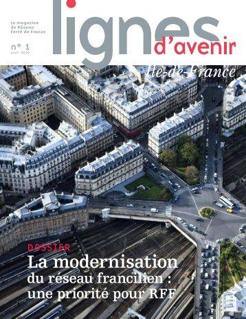 Lignes d'avenir Ile-de-France n°1 - RFF