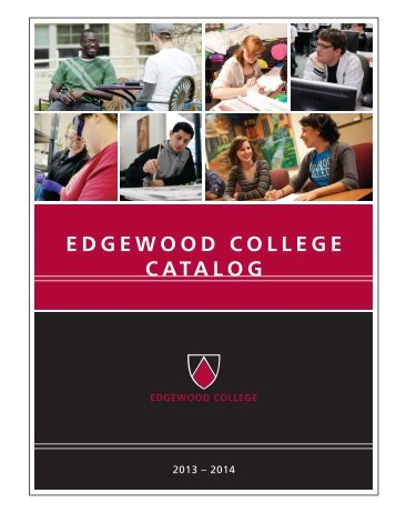 EC Catalog - Edgewood Express - Edgewood College