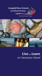 English Version - International Program - Campbell River School ...
