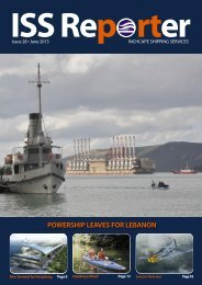 June 2013 - Inchcape Shipping Services