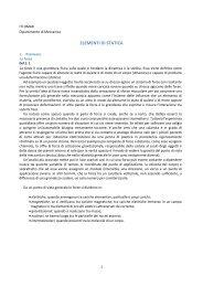 ELEMENTI DI STATICA - Valentiniweb.com
