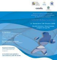 Attività fisica e salute - Comune di Castiglione del Lago