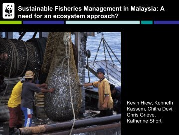 Sustainable Fisheries Management in Malaysia: A need ... - Seafdec
