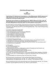 Zwischenprüfungsordnung § 54 Französisch - Institut für Romanistik