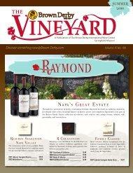 Summer 2010 Vineyard - Brown Derby International Wine Center