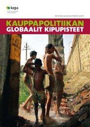 Kauppapolitiikan globaalit kipupisteet - Kepa