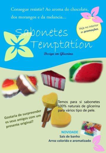 Sabonetes Temptation - O Nosso Casamento
