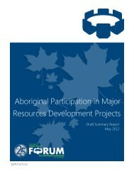 Summary Report - Ottawa - Public Policy Forum