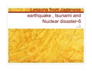 Lessons from the disasters in Japan-6