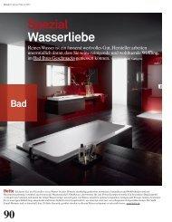 Spezial Wasserliebe - Archithema Verlag AG