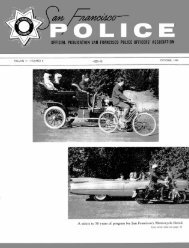 October 1959 - San Francisco Police Officers Association