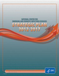 ncezid strategic plan 2012-2017 - Centers for Disease Control and ...
