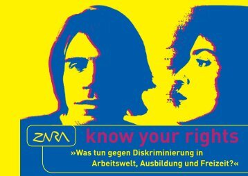 know your rights - Zara