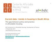 Current data / trends in housing in South Africa - Plusto.com
