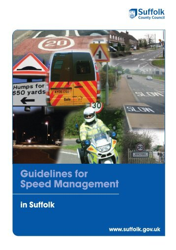 Speed Management - Suffolk County Council