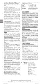 Metformin - Aristo Pharma GmbH - Seite 2