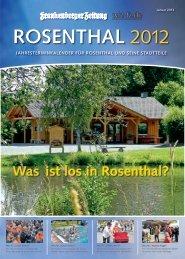 ROSENTHAL 2012
