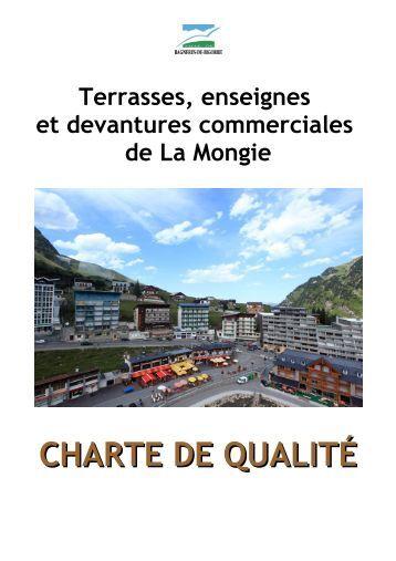 CHARTE DE QUALITÉ - Bagnères de Bigorre