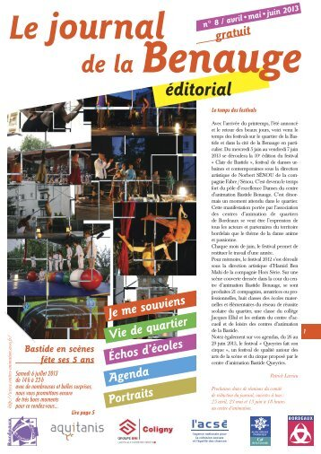 Journal Bastide Benauge n°08 - Association des centres d ...