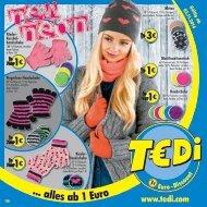 TEDI - new neon - 29.10.2014 - DE