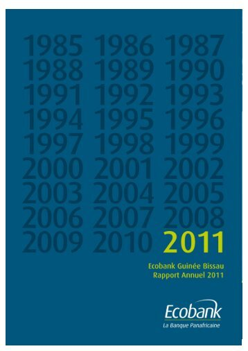 Rapport Annuel 2011 - Ecobank