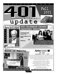 Fall 2001 - 401 Richmond