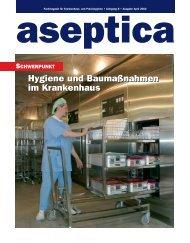Das Fachmagazin für Krankenhaus - aseptica