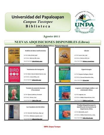Libros - UNPA