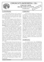 COMUNICATO ANDROMEDA n. 28/94 - Viveremeglio.org