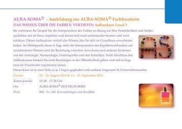 AURA-SOMA® - Ausbildung zur AURA-SOMA® Fachberaterin