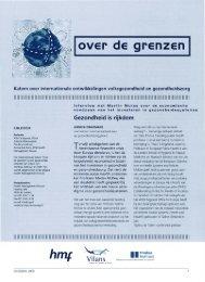 Vilans - STG / Health Management Forum
