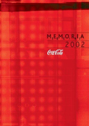 Informe 2002 - Coca-Cola