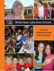 2012-13 Elementary Guide - White Bear Lake Area Schools