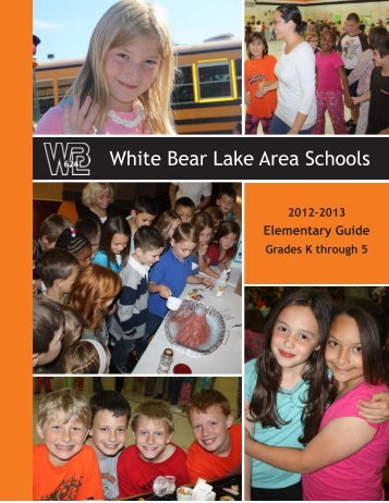 2012-13 Elementary Guide - White Bear Lake Area Schools