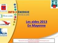 Le crédit d'impôt - Espace Info Energie Pays de la Loire