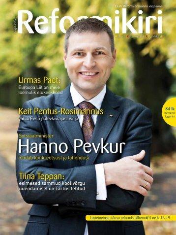 Reformikiri sügis 2012(pdf, 10.7 MiB) - Reformierakond