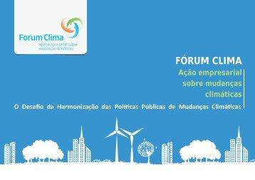 FÓRUM CLIMA - Instituto Ethos