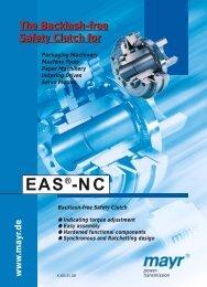 EAS®-NC ratchetting clutch