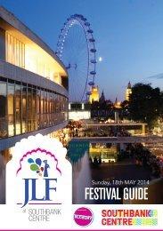 Jaipur Literature Festival at Alchemy 2014 brochure