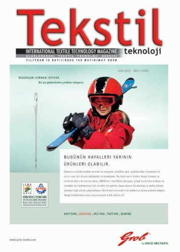 TEKNIK Ltd. and TUYAP Cooperation for Textile ... - Tekstil Teknoloji
