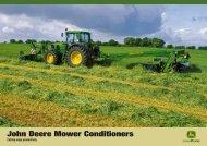 Mower Conditioner Brochure - John Deere