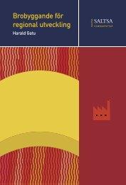 Brobyggande för regional utveckling - Ekonomisk-historiska ...
