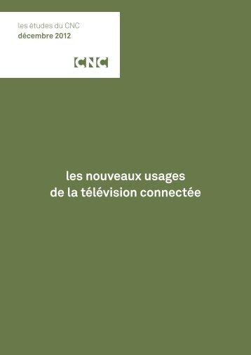 CNC – Les nouveaux usages de la télévision connectée - L'ARP
