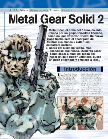 Descargar Metal Gear Solid 2 - Mundo Manuales