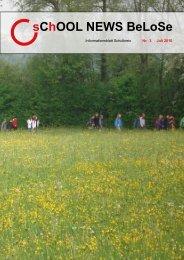 sChOOL NEWS BeLoSe 2010_07 Internet.pdf - Schulkreis BeLoSe