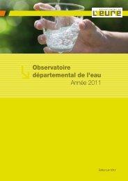 Observatoire départemental de l'eau Année 2011 - Eure