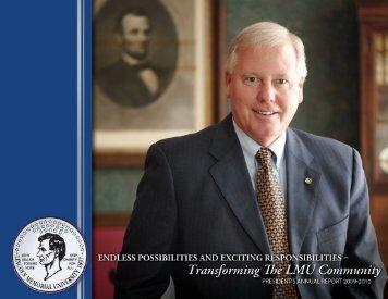 2009-2010 - Lincoln Memorial University